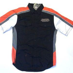 Harley-Davidson Performance Vented Pinstripe Shirt